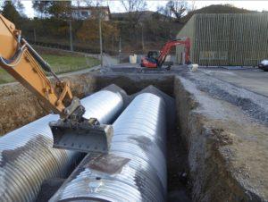 Solution d'assainissement, installation d'un réseau d'eaux usées