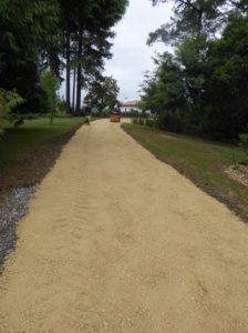 Création d'un chemin pour une villa à Arbonne