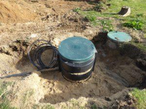 Branchement eaux usées avec station de relevage à Arcangues