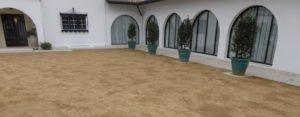 Aménagement des abords de l'ancienne propriété de Luis Mariano à Arcangues