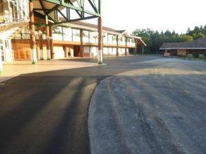 Revêtement enrobé - Collège Chantaco Saint Jean de Luz